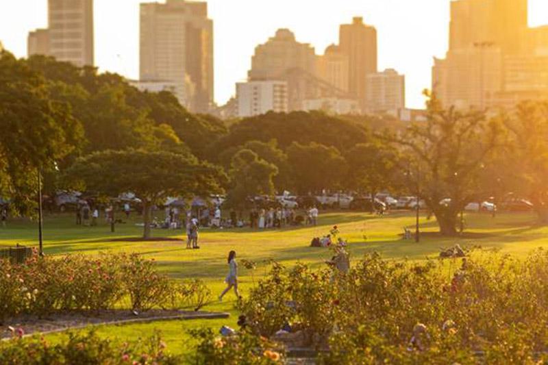 newfarm park brisbane view